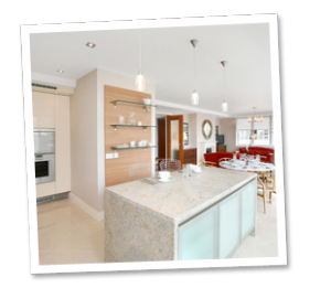 old kitchens replaced with new