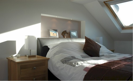 turn your attic into a master bedroom with R W Joinery